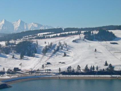 Wyciąg narciarski Polana Sosny w Niedzicy